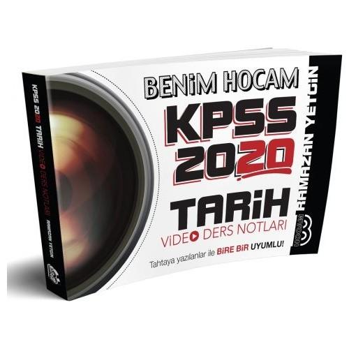 Benim Hocam Yayınları 2020 KPSS Tarih Video Ders Notları