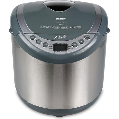 Fakir Pane Deluxe 10 Programlı Paslanmaz Çelik Ekmek Yapma Makinesi