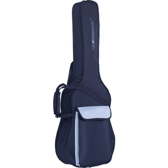 Crossrock Cases Crsg006Cbr - 5Mm Süngerli Klasik Gitar Gig-Bag (Siyah-Kırmızı)