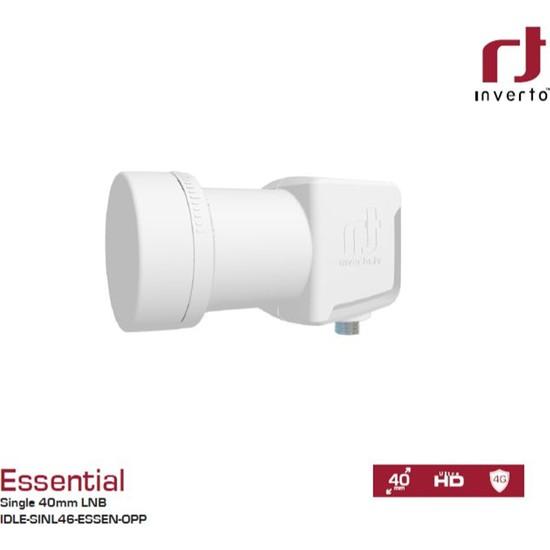 İnverto Essential Single Tek Çıkışlı Ultra Hd Lnb