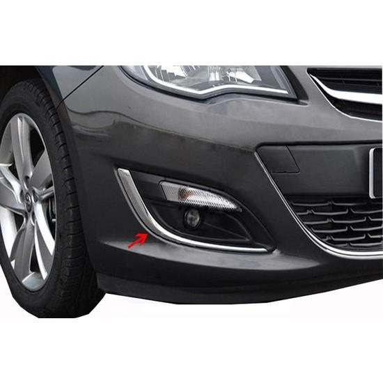 Arabamsekil Opel Astra J Sedan Sis Farı Cercevesi 2 Prç Paslanmaz Çelik 2012-