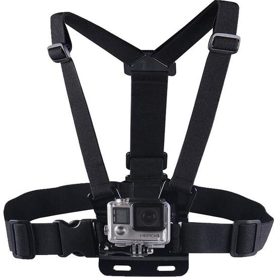 KingMa GoPro Uyumlu Göğüs Bağlantı Askısı Chest Mount