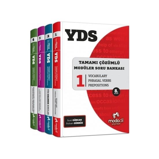 Modadil YDS Modüler Soru Bankası Seti - Suat Gürcan