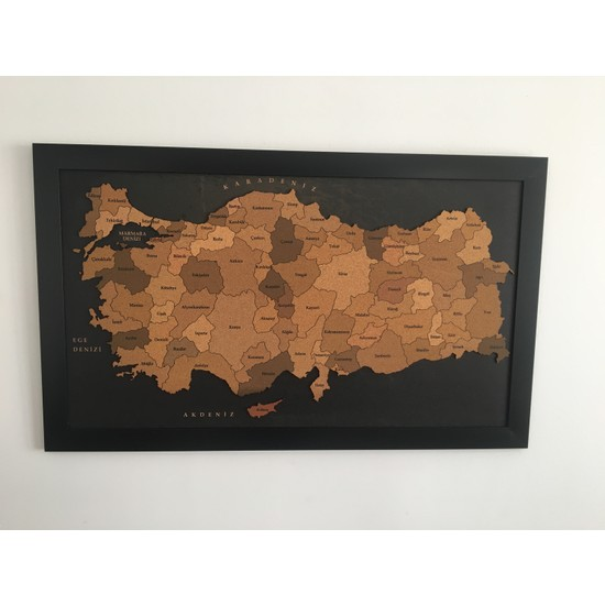 Mapofx Mantar Türkiye Haritası 3D