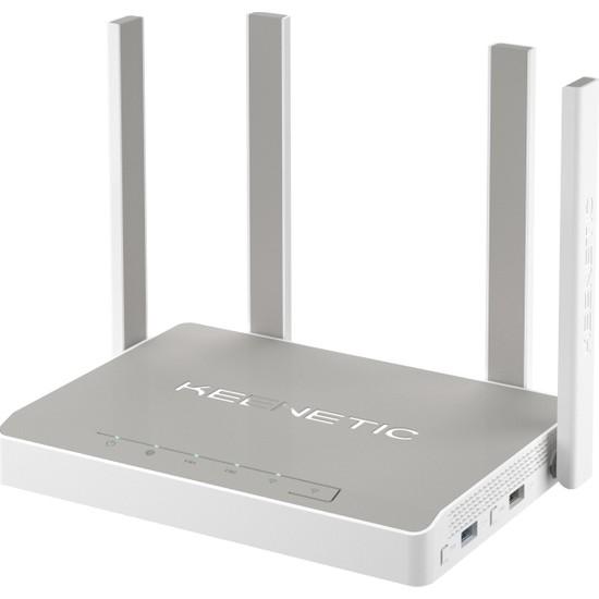 Keenetic Ultra AC2600 4x5dBi Cloud VPN Dualcore MU-MIMO Beamforming WPA3 Amplifier 2xUSB 5xGE SFP Fiber Mesh WiFi Router