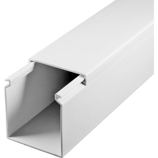 A Plus Elektrik 40x40 mm Beyaz 10x1,5m=15m Bantsız Kablo Kanalı