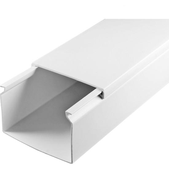 A Plus Elektrik 60x40 mm Beyaz 2x1m=2m Bantsız Kablo Kanalı