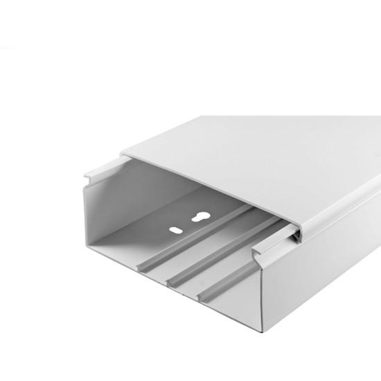 A Plus Elektrik 100x40 mm Beyaz 2x1m=2m Bantsız Kablo Kanalı
