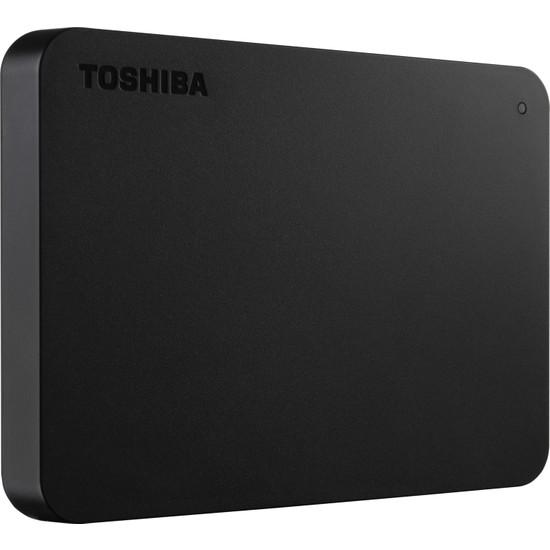 """Toshiba Canvio Basic 2TB 2.5"""" Siyah Taşınabilir Disk (HDTB420EK3AA)"""
