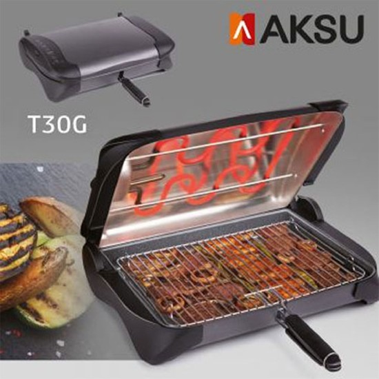 Aksu T 30 G Şişfish Elektrikli Izgara Termostatlı