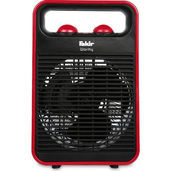 Fakir Warmy 2000W Kırmızı Elektrikli Fanlı Isıtıcı