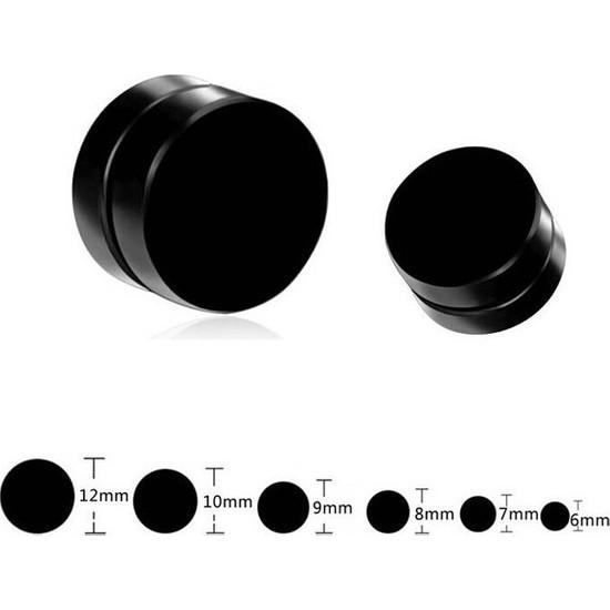Madame Kuub Mıknatıslı 8 mm Erkek Unisex Küpe