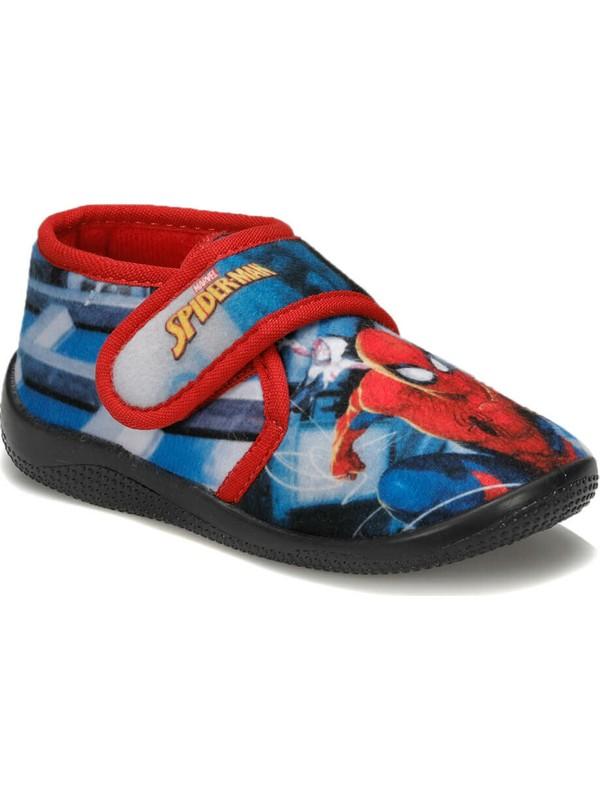 Spiderman 92.Capes-1.P Mavi Erkek Çocuk Panduf