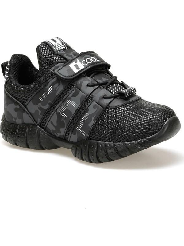 I Cool Tree Siyah Erkek Çocuk Yürüyüş Ayakkabısı