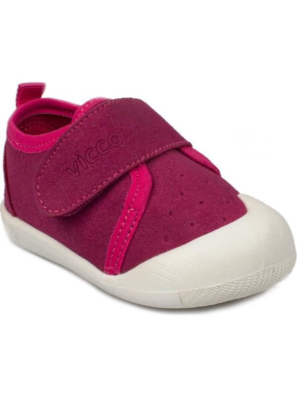 Vicco 950.E19K.224 İlk Adım Fuşya Çocuk Ayakkabı