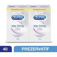 Durex Yok Ötesi Ultra Kaygan 40'lı Prezervatif Ekstra Avantaj Paketi