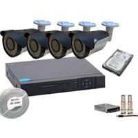 Promise 4 Kameralı Set Harddisk Dahil 3 Mp 1080P Ahd Sistem