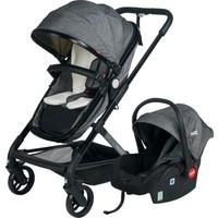 Kanz Veyron Travel Sistem Bebek Arabası Gri