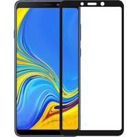 Quse Samsung Galaxy A9 2018 Tam Kaplayan 5D Ekran Koruyucu Nano Esnek Cam