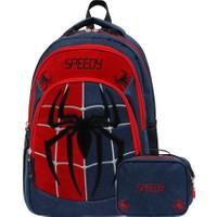 Adalinhome Örümcek Adam Beslenme Çantalı Okul Çantası- AD-0115