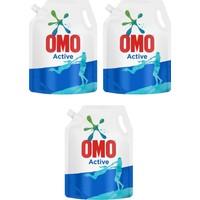 Omo Pouch Sıvı Deterjan Active 3X1170 ml