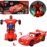 E-kids Cars Şimşek Mcqueen Robota Dönüşen Araba