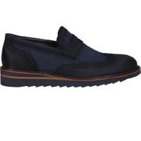 Kıng West 191-53 Laci Nubuk Erkek Ayakkabı