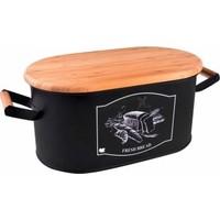 Sonata - Kesme Tahtası Kapaklı Ekmek Kutusu