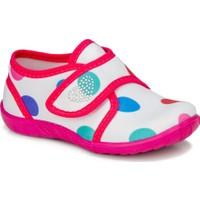 Crazy Kids Crazykids Renkli Kız Çocuk Panduf Kreş Ayakkabısı