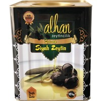 Alhan Zeytincilik Siyah Trilye(Gemlik) Zeytin