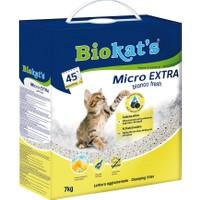 Biokats Kedi Kumu Micro Bianco Fresh Extra 7 Kg