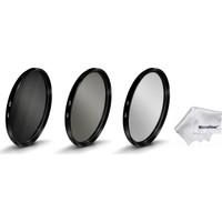 Beta 72 mm Lensler İçin Koruyucu Uv + Cir Cpl Circular Polarize + Nd8 Uzun Pozlama Nd Filtre