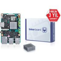 Asus TINKER BOARD/2GB Rockchip RK3288 1800Mhz DDR3 LGA1151 USB 3.1 ATX Anakart