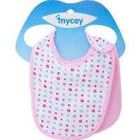 MYCey Bebe Önlüğü - 2 Parça Set - Pembe(700002)