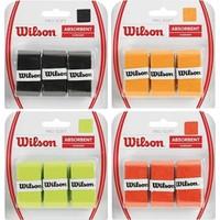 Wilson Pro Soft Overgrip 3'lü Altın ( WRZ4040GO )