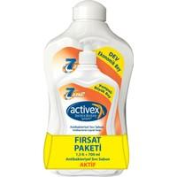 Activex Antibakteriyel Sıvı Sabun Aktif 1.5 lt & 700 ml Fırsat Paketi