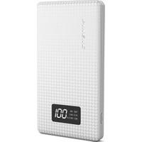 Pineng PN-963 10000mAh Dijital Gösterge iPhone İçin Dönüştürücü Beyaz Powerbank