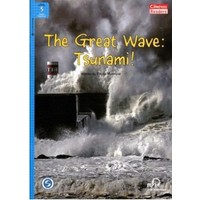 The Great Wave: Tsunami! +Downloadable Audio (Compass Readers 5) A2-Paula Morrow