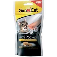 Gimcat Nutripockets Kedi Ödülü Tavuk Biotin 60Gr