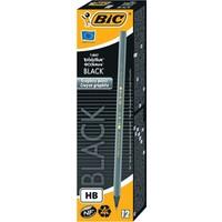 Bic Evolution Black Hb Kurşun Kalem 12'li