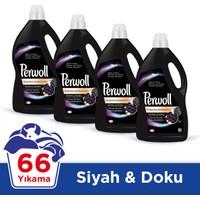 Perwoll Sıvı Çamaşır Deterjanı Siyah 4 Lt x 4 Adet