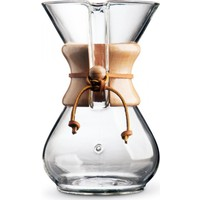 Chemex Cam Kahve Demleme Ekipmanı 800 ml 6 Cup epinox