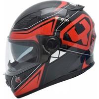Yohe Ff 970 Siyah Kırmızı Motosiklet Kaskı