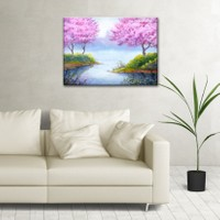 The Canvas By Cadran 70 x 100 cm Dekoratif Canvas Tablo C4C179