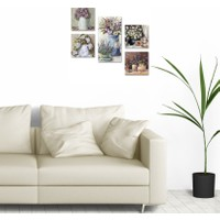 DecorLux Collage Style 5 Parçalı MDF Tablo ATF105