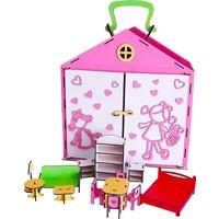 Ahşap Toys Ahşap- Bebek Evi-Mini Mobilyalar