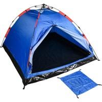 Lerato 3 Kişilik Otomatik Kurulumlu Kamp Çadırı