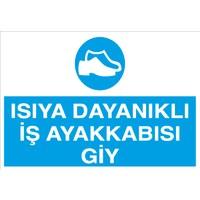 Canis Etiket Isıya Dayanıklı Iş Ayakkabısı Giy Dekota