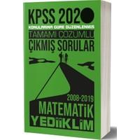 Yediiklim Yayınları 2020 KPSS Genel Yetenek Matematik Tamamı Çözümlü Konularına Göre Çıkmış Sorular
