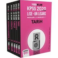 Yediiklim Yayınları 2020 KPSS Ortaöğretim-Önlisans Genel Kültür - Genel Yetenek Tamamı Çözümlü Modüler Soru Bankası